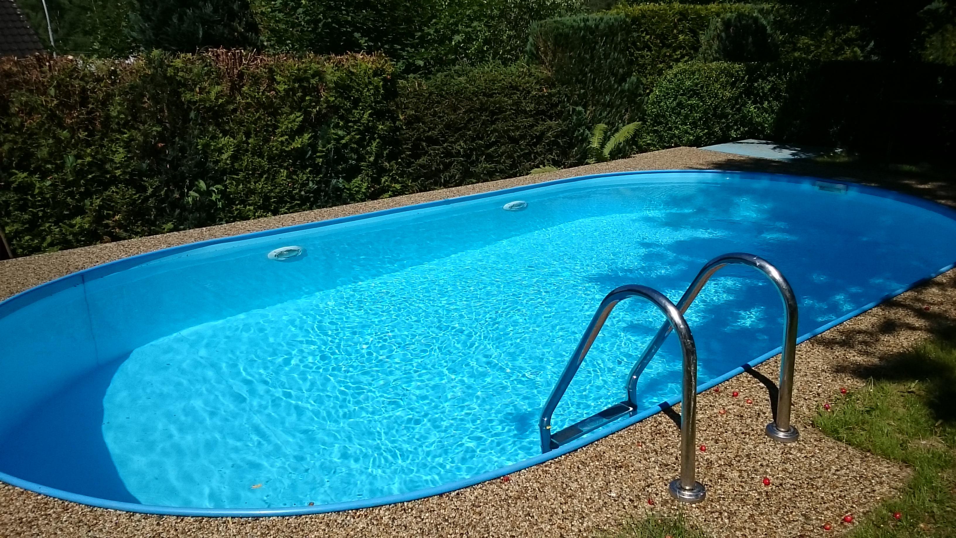 Venkovní bazén/ Outdoor Pool/ Freibad