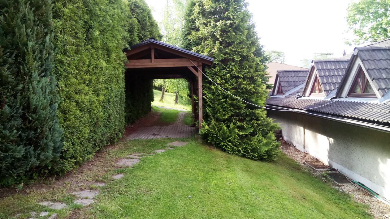 Zázemí penzionu /  Hinterland / Rear of Guest House